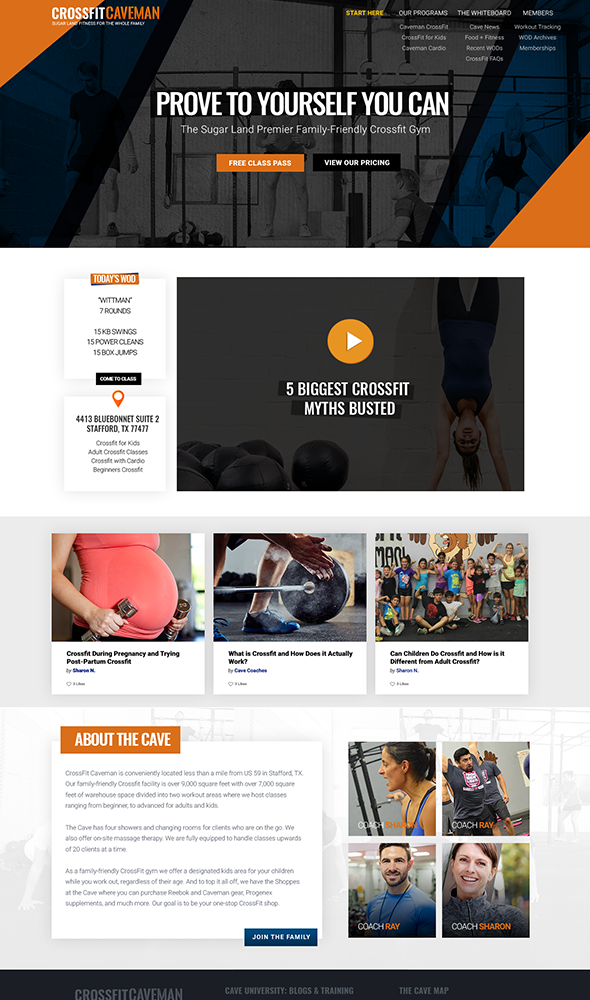 crossfit-website-design