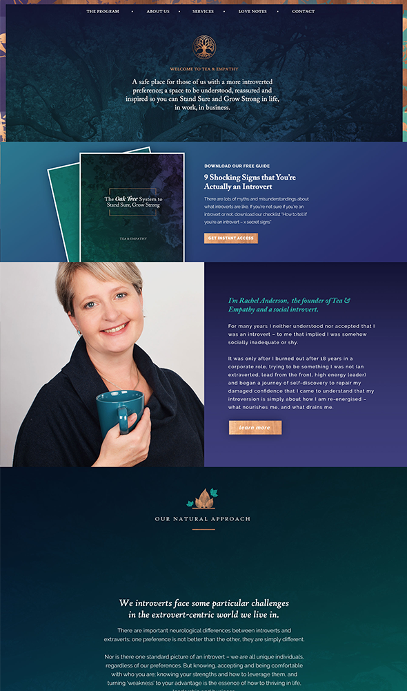 therapist-website-design